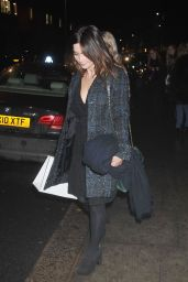 Jenna Coleman at theNordoff Robbins Christmas Carols in London 12/13/ 2016