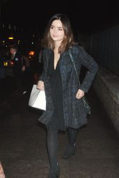 Jenna Coleman at theNordoff Robbins Christmas Carols in London 12/13/ 2016