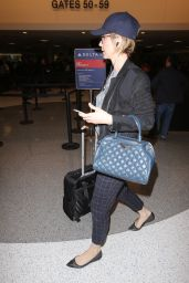 Jenna Elfman at LAX Aiurport in Los Angeles 12/13/ 2016