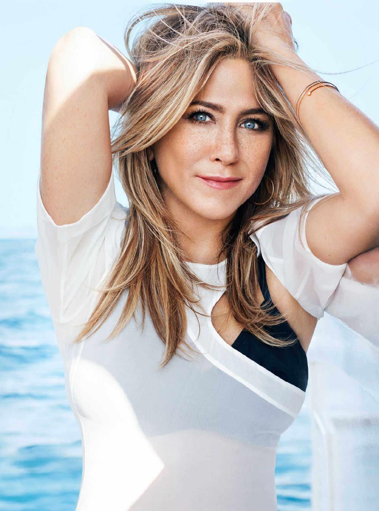 Jennifer Aniston in Marie Claire magazine