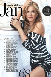 Jennifer Aniston - Marie Claire Magazine Australia January 2017 Issue
