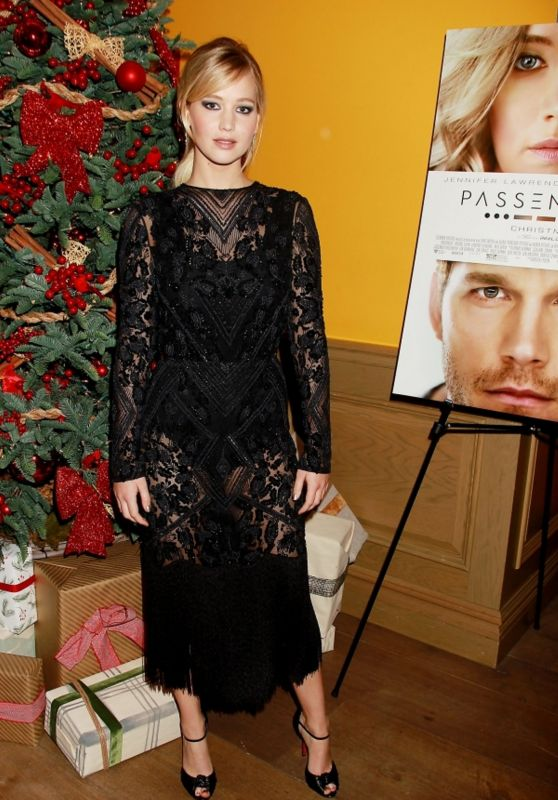 Jennifer Lawrence at Special Screening of Passengers Movie in New York