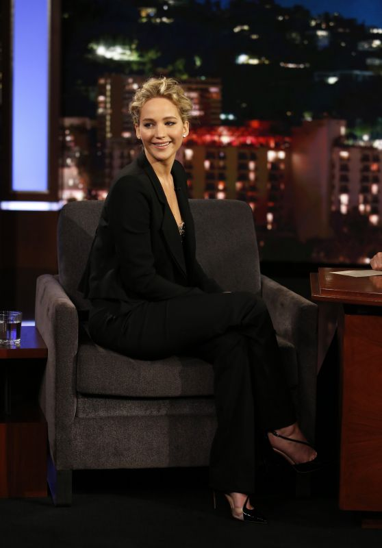 Jennifer Lawrence - Jimmy Kimmel Live in Hollywood 12/12/ 2016