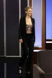 Jennifer Lawrence - Jimmy Kimmel Live in Hollywood 12/12/ 2016