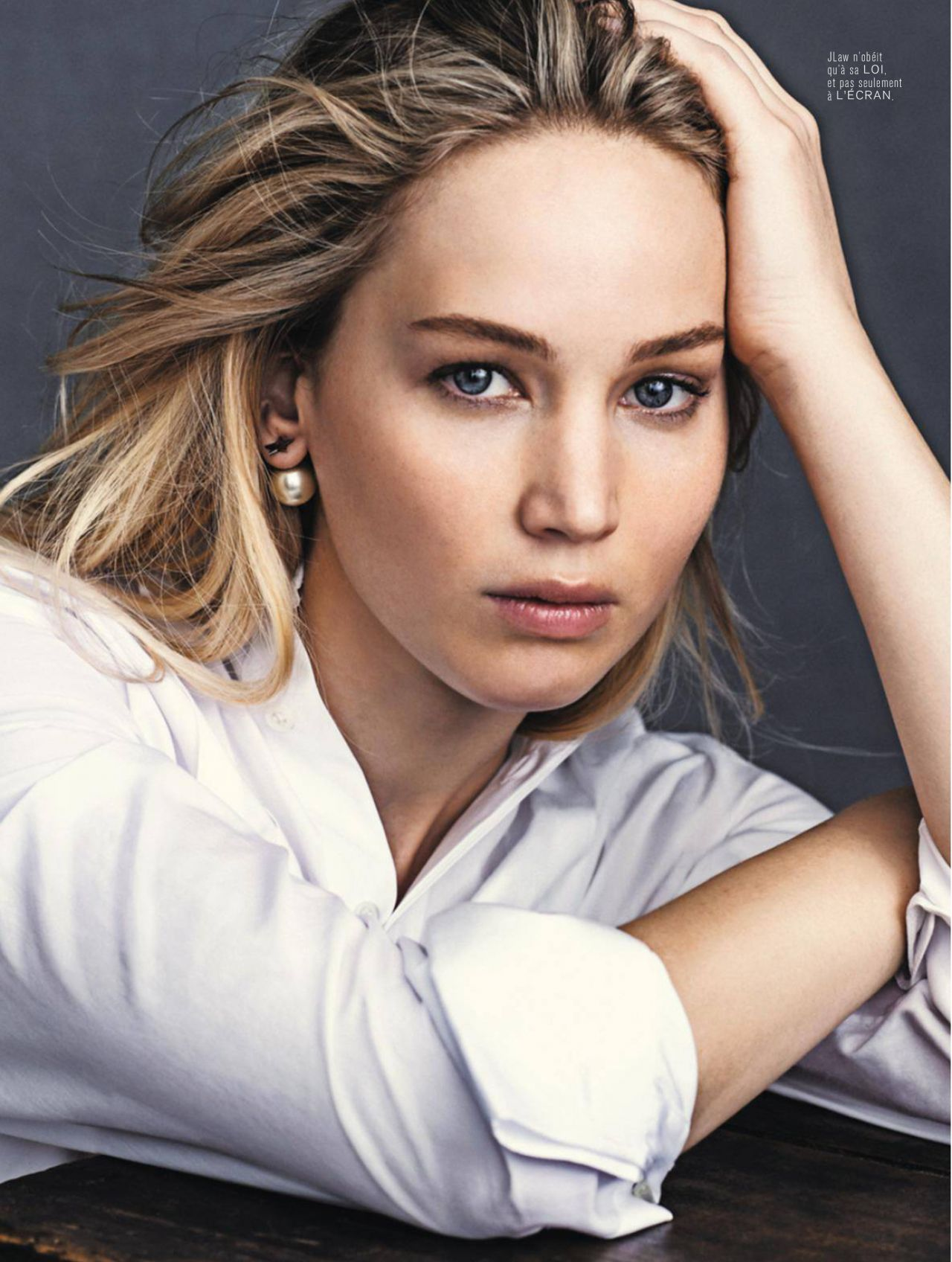Jennifer Lawrence - L'Express Styles Magazine December ...
