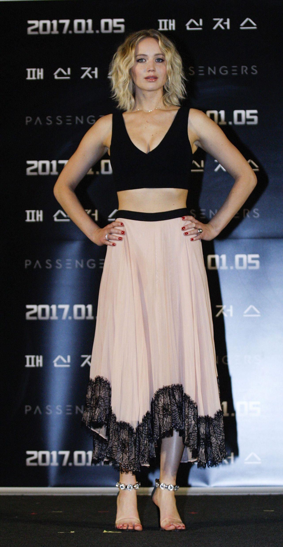 Jennifer Lawrence - 'Passengers' Press Conference in Seoul ...