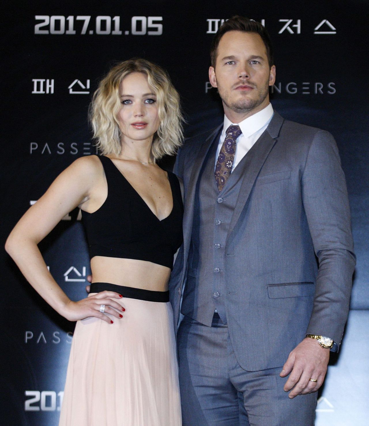'Passengers' Press Conference In Seoul