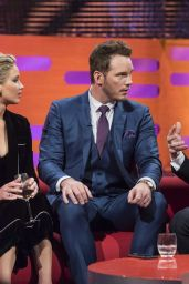 Jennifer Lawrence - The Graham Norton Show in London, December 2016