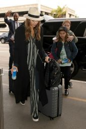 Jessica Alba - Arrives at LAX Airport in Los Angeles 12/26/ 2016