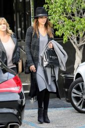 Jessica Alba - Shopping at XIV Karats in Beverly Hills 12/23/ 2016