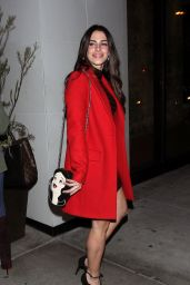 Jessica Lowndes at Catch Restaurant in West Hollywood 12/16/ 2016