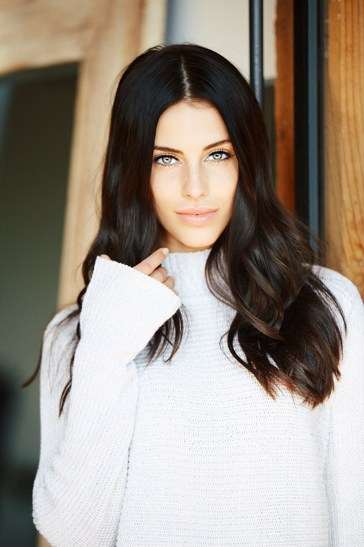 Jessica Lowndes Fireside Photoshoot For Dear Loco