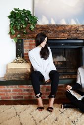 Jessica Lowndes - Fireside Photoshoot for Dear Loco, December 2016