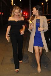 Jessica Wright & Lydia Bright at Neighbourhood in Liverpool 12/10/ 2016