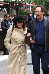 Joan Collins Shopping Trip to The Grove in Hollywood 12/23/ 2016