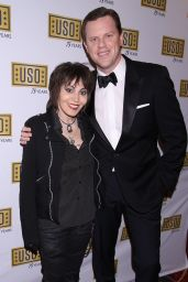 Joan Jett – USO New York 75th Anniversary Gala in Marriott Marquis Hotel 12/13/ 2016