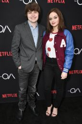 Joey King - The OA TV series screening in Los Angeles 12/15/ 2016