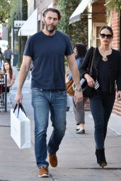 Jordana Brewster - Shopping at Barneys New York in Beverly Hills 12/28/ 2016