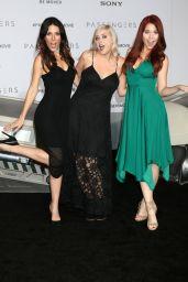 Joslyn Davis, Lily Marston & Erin Robinson – 'Passengers' Premiere in Westwood