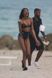 Jourdan Dunn & Sigail Currie - Miami Beach for Art Basel 12/1/ 2016
