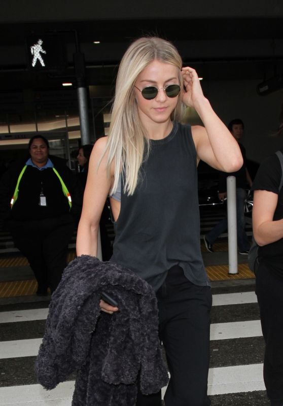 Julianne Hough at LAX 12/15/ 2016