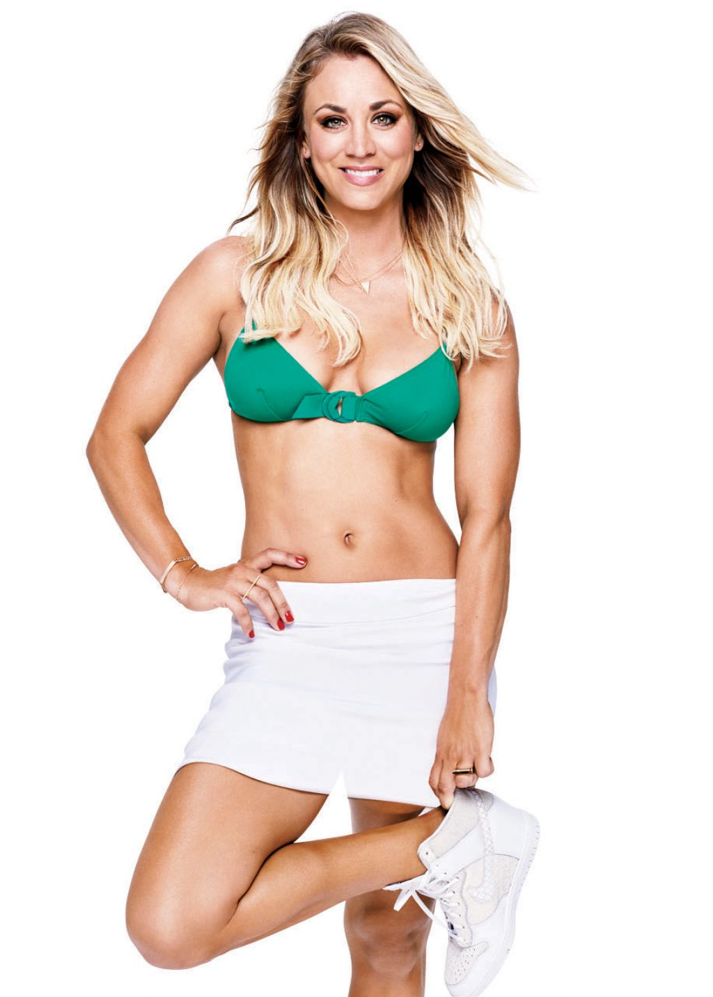 Kaley Cuoco in Women's Health Magazine