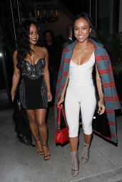 Karrueche Tran at Catch Restaurant in West Hollywood 12/16/ 2016