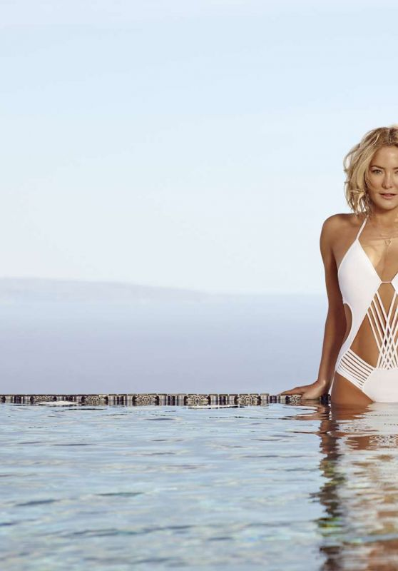 Kate Hudson - Fabletics Swimwear Summer 2016