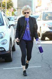 Kate Mara in Leggings - Out in Los Angeles, CA 12/20/ 2016