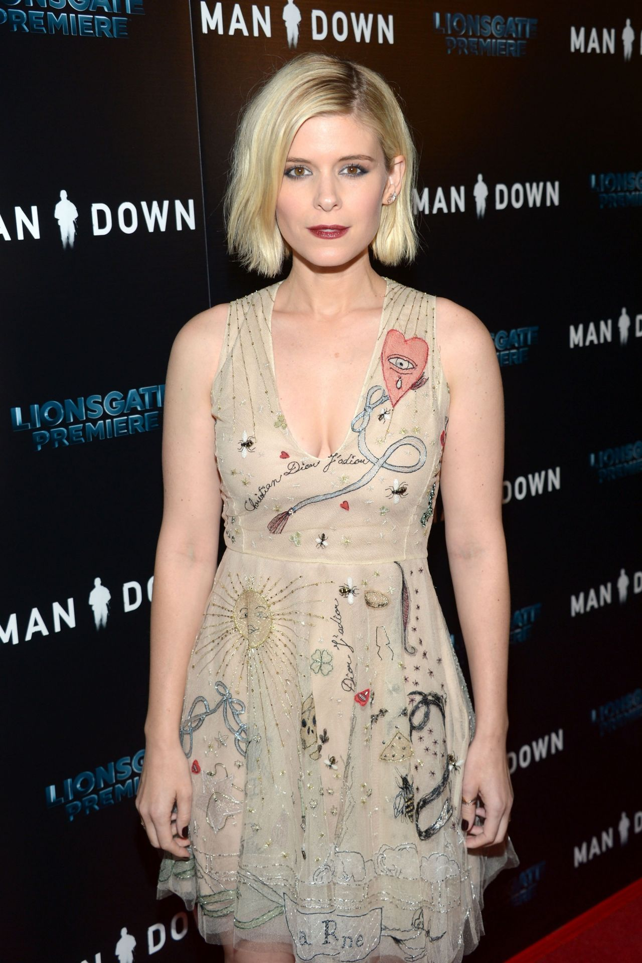 Kate Mara Man Down Premiere At Arclight Hollywood In