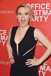 Kate McKinnon – 'Office Christmas Party' Screening in NYC