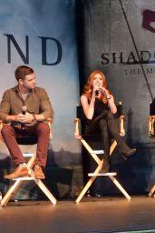 Katherine McNamara - Shadowhunters Screening in Denver, Colorado 12/10/ 2016