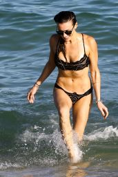Katie Cassidy in a Bikini at a Pool in Miami 12/13/ 2016