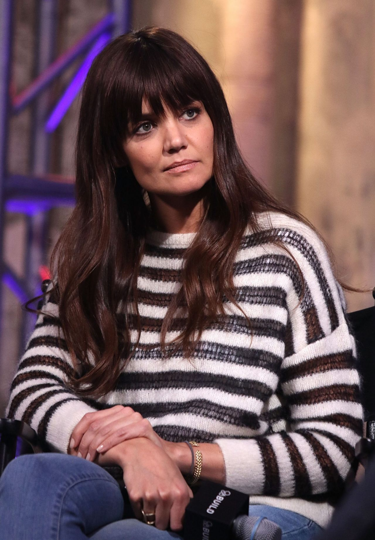 Katie Holmes All We Had Cast At Aol Build Speaker