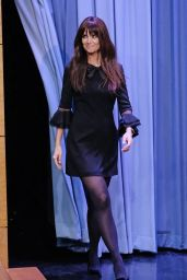 Katie Holmes - The Tonight Show Starring Jimmy Fallon in NYC 12/6/ 2016