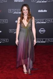 Katie Leclerc – 'Rogue One: A Star Wars Story' Premiere in Hollywood 12/10/ 2016
