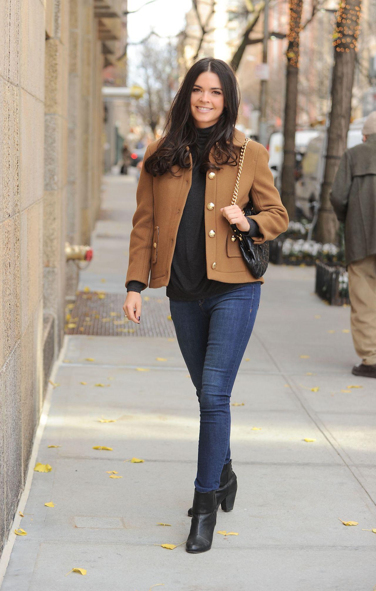 Katie Lee Casual Style Leaving Nbc Studios In New York