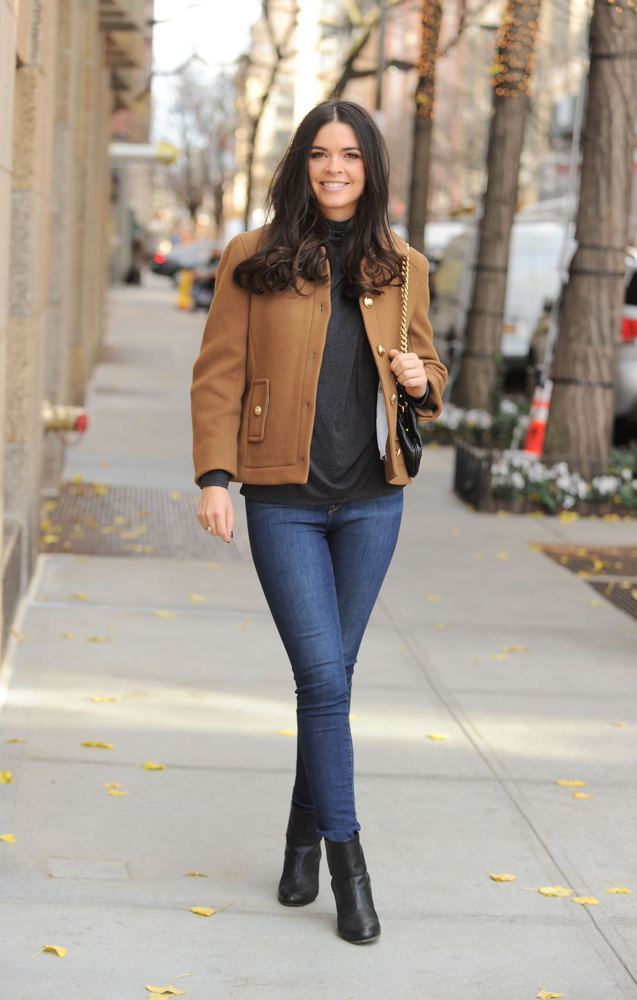 Katie Lee Casual Style Leaving Nbc Studios In New York