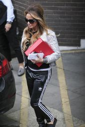 Katie Price - Leaving the ITV Studios Wearing Slippers in London 12/23/ 2016