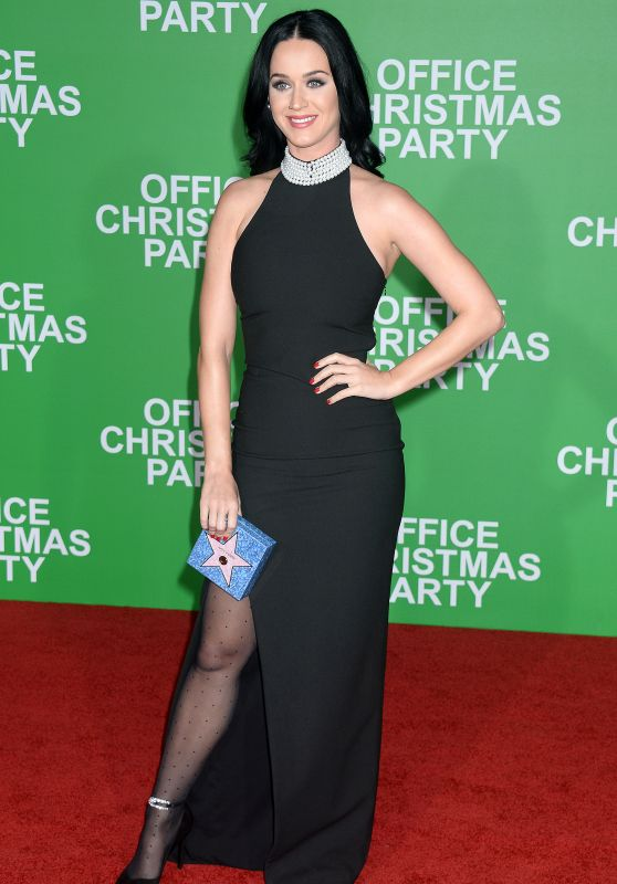 Katy Perry - 'Office Christmas Party' Premiere at Regency Village Theater in Westwood 12/7/ 2016
