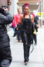 Keke Palmer - Leaving the BET Studio in NYC 12/13/ 2016
