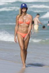 Kelly Bensimon in a Bikini at Miami Beach 12/25/ 2016