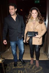 Kelly Brook at Steam & Rye in London, UK 12/22/ 2016