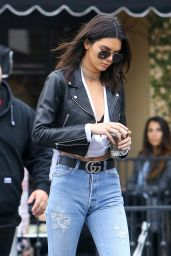 Kendall Jenner Urban Outfit - at Alfreds Coffee in West Hollywood 12/15/ 2016