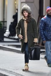 Keri Russell - Shopping in SoHo 12/12/ 2016