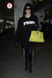 Khloe Kardashian - Arriving on a Flight at LAX Airport in LA 12/23/ 2016