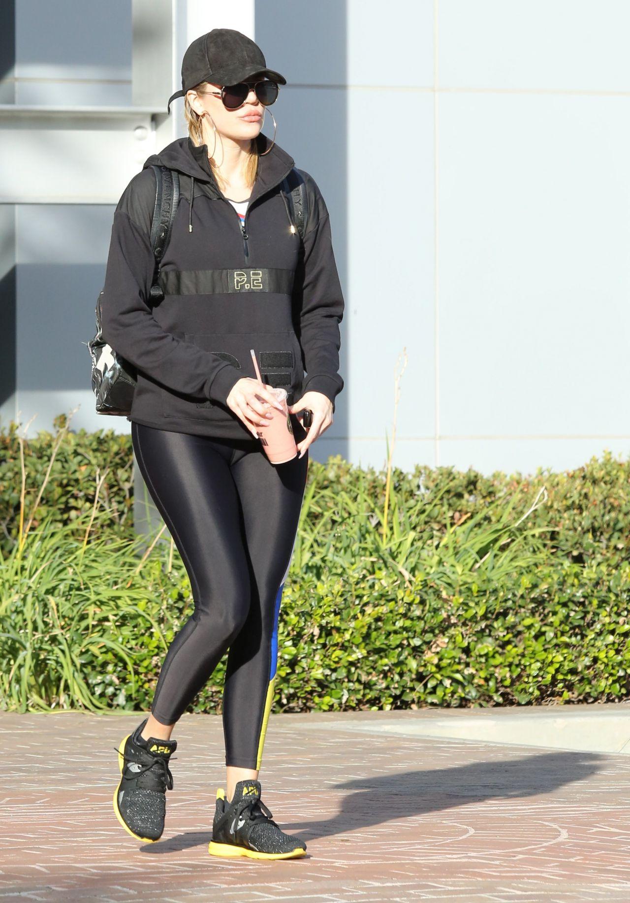 Khloe Kardashian Leaving Equinox Gym In Los Angeles 12 4