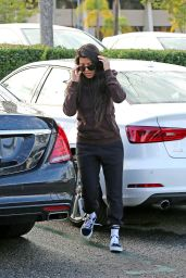 Kourtney Kardashian at Menchies on a Rainy Day in Calabasas 12/21/ 2016