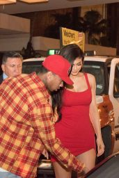 Kylie Jenner - Coming Out of a Hotel With Tyga During Art Basel Miami 2016 12/1/ 2016