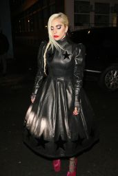 Lady Gaga Night Out Style - Leaving a Club in London, UK 12/6/ 2016